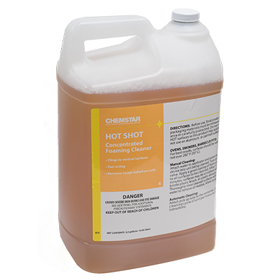 Hot Shot Self-Foaming Detergent
