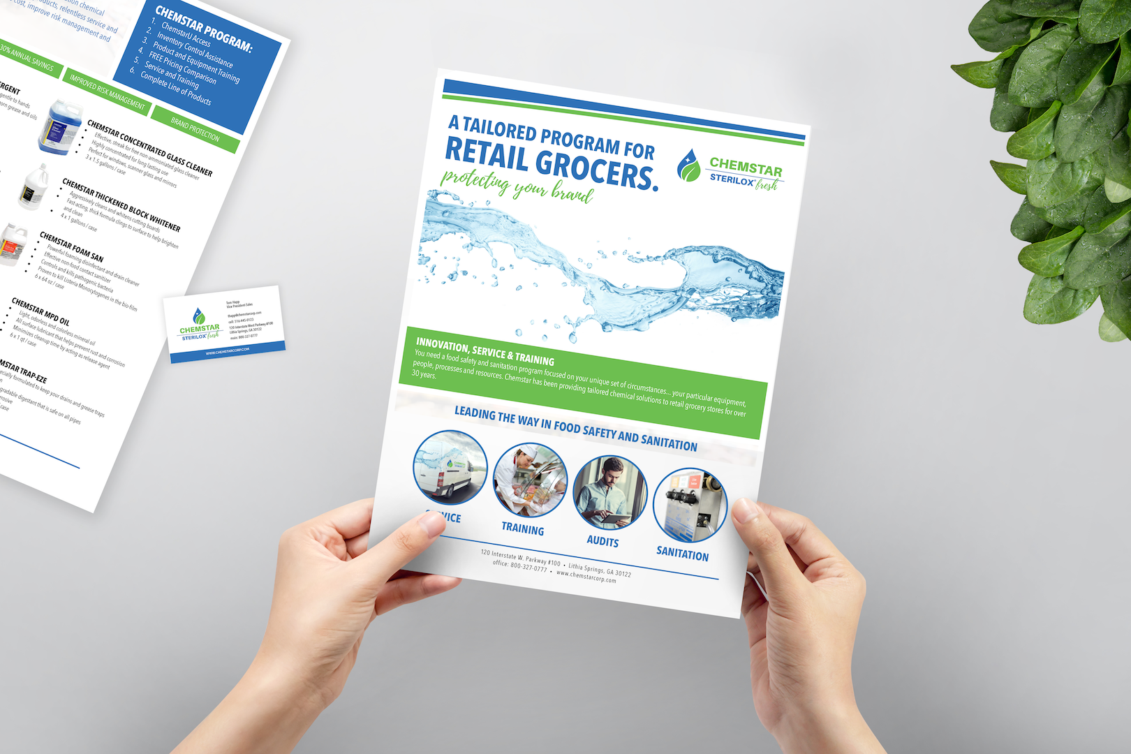 Sanitation Solutions : Products for Foodservice Environments